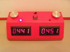 Timer -Red w/ Red LED --ZMFII Digital Chess Clock made in USA-