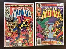 Nova (1976 series) #'s 18 & 24 Marvel comics