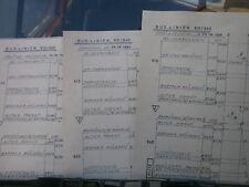 WSW città opere W-tal Ladder 610/640 corso da tavola/Incrocio piano lun-dom, a partire dal 3.6.1984