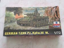 MAQUETTE GERMAN TANK PZ KPFW.III M - ESCI- 1/72ÉME - NEUVE