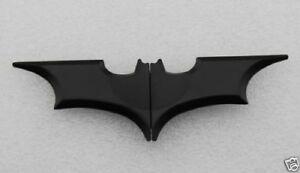 Batman the Dark Knight Rises Folding Batarang Satin Money Clip  Black /Gold NY