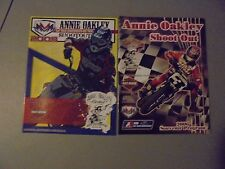 Lot Of 2 2006,2008 Annie Oakley Shootout Motorcycle Race Programs,Greenville,Ohi