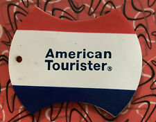 Vintage Amarican Tourister Luggage Tag