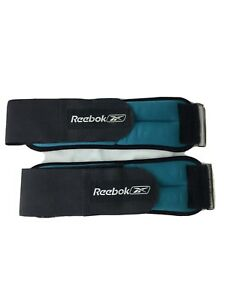 Reebok Adjustable Strap 3lbs Ankle Weights 1.5lbs each for a total of 3 lbs.
