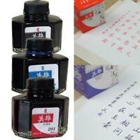 50ml Fountain Pen Ink 201 203 204 Dip Pen Ink Bottle Hexagon Classy Gl A2R1