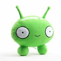 Final Space Season Cute Green Robot Mooncake Plush Toy Soft Stuffed Dolls 10''