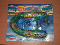 2003 VINTAGE AQUA SUPER LAUNCH POWER ACTIVE BOAT BATTERY OPERATED TOY MIB