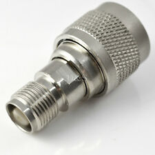 TNC Female Jack to N Male Straight RF Coaxial Connector Adapter Convertor Useful