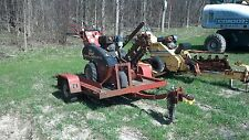 Ditch Witch 1230 Walk Behind Trencher W/ Free Trailer