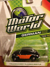 Greenlight MOTOR WORLD Volkswagen Classic Beetle   black & orange