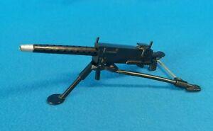 Original ACTION MAN Vintage Heavy MACHINE GUN 50 Cal TRIPOD 1960s PALITOY GI Joe