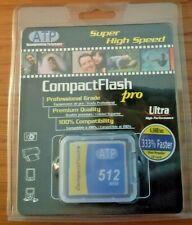 ATP 512MB Compact Flash [CF] Memory Card, For Digital Cameras - Ultra