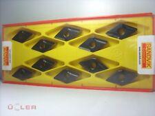 10x Sandvik dnmg 150608r-k 4325 plaquitas Carbide Inserts