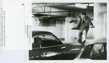 CHARLES BRONSON LEAPS OVER CAR TELEFON ORIGINAL 1983 ABC TV PHOTO