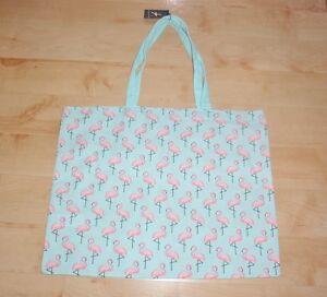 BNWT Primark womens FLAMINGO tote shoulder bag