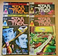 Star Trek: The Motion Picture issues 1-4 (Marvel 1980 comic lot/run) 2 3 VF-NM
