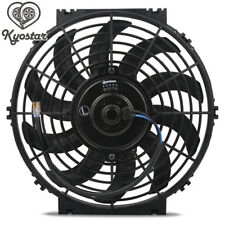 Universal 10inch Slim Fan Push/Pull Electric Radiator Cooling Engine Kit 12V 80W