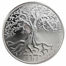 NEW ~ 2018 ~1~OZ ~PURE .999 SILVER ~ TREE of LIFE COIN ~ NEW ZEALAND MINT~ $9.99