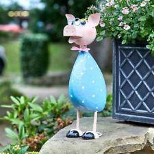 Smart Garden Bright Metal Polka Pig - Ideal Gift idea for garden or home