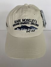 Mark Moseley Redskins Cowboy Blue ridge Shadows 4head vintage Strap Back Hat NWT