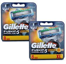 16 Gillette Fusion5 ProGlide Power / 2x 8er in OVP = 16 Stück Gillete Gilette