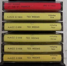 TED WEEMS - VINTAGE JAZZ MUSIC BY TED WEEMS - 6 CASSETTE TAPES