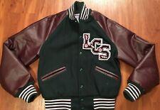 VTG Men's MECA High School Letterman Varsity Jacket LCS