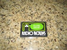 "RADIO RERUNS #20 ON CASSETTE  W.C. FIELDS  ""THE DAY I DRANK A GLASS OF WATER"""