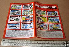 1957/58. catalogo a colori Micromodels ultima questione. ZENITH BROOKLYN NEW YORK USA
