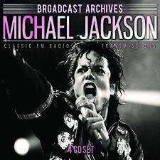 MICHAEL JACKSON New Sealed 2019 CAREER SPANNING LIVE CONCERTS 4 CD BOXSET