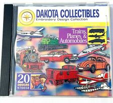 Dakota Collectibles Embroidery Software Train Planes Automobiles 20 Designs