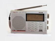 TECSUN PL-600 Silver FM Stereo /LW/SW/MW SSB PLL Digital Dual Conversion Radio