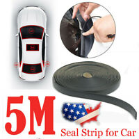 5m Seal Strip Trim For Car Front Rear Windshield Sunroof Weatherstrip Rubber US