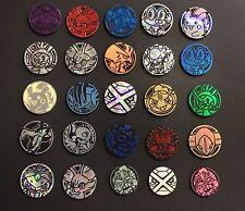 Pokemon TCG : 5x Random Mixed OFFICIAL Coin Lot - Brand New - NO DUPLICATES