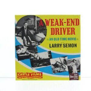 SUPER 8 SOUND-CASTLE FILMS A Weak-End Driver Larry Semon