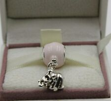 AUTHENTIC PANDORA  Elephant & Pink Balloon Charm 797239EN160    #1290