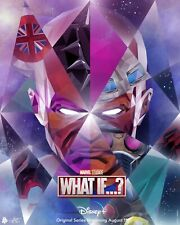 What If…?  animated Series DECAL Poster Comic Spider Man Zombie Hunter exclusive
