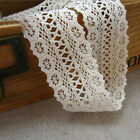 Vintage Cotton Crochet Lace Edge Trim Sewing Bridal Applique Ribbon Craft Decor