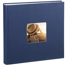 Hama Fine Art Jumbo - Álbum de fotos (30 x 30 cm, 100 páginas, 50 hojas, con com