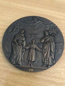 Papst Medaille Vatikan 1983-84 Anno Santo