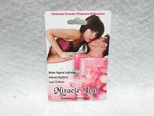 Miracle Leaf For Women Enhancer Supplement 1 Pill Sexual Enhance Libido Hot Sexy