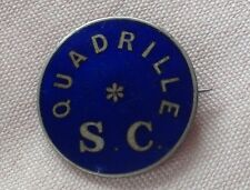 Quadrille SC badge Saddle Club? horses Square Dancing?