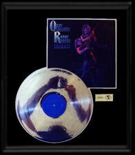 OZZY OSBOURNE RANDY RHOADS TRIBUTE RARE GOLD RECORD PLATINUM DISC LP ALBUM