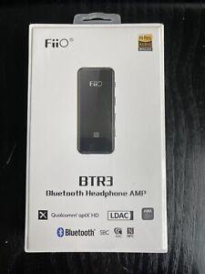 FiiO BTR3 Portable Bluetooth Headphone Amp & DAC: LDAC, aptX HD, AAC, Hi-Res.