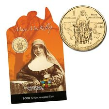 2008 $1 Uncirculated Coin - Inspirational Australians  Mary Mackillop
