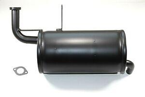 Kawasaki Mule 520 / 550 NEW Exhaust / Muffler - OEM 18090-1556 w/ Gasket
