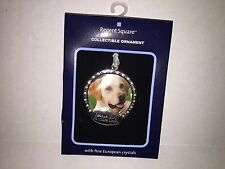 Regent Square Christmas Holiday Pet Rescue Dog Cat Photo Ornament Crystal Accent