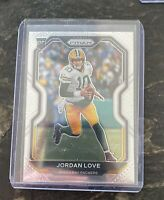 2020 Panini Prizm Jordan Love Rookie Card Base RC #363 Green Bay Packers