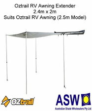 2.5m x 2.1m RV SHADE AWNING EXTENDER Wall Oztrail 4WD Camping