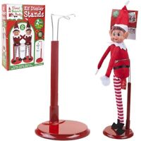 2pc Xmas Elves Naughty Elf Display Stands Decoration Christmas Shelf Sit On